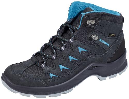 Lowa Levante GTX QC Shoes Women anthracite/turquoise 39 2018 Trekking- & Wanderschuhe D8FQd